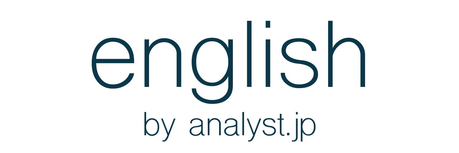 english by analyst.jp